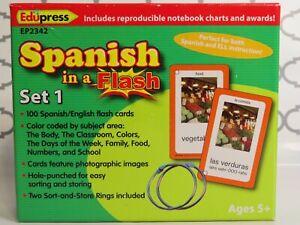 Edupress Teacher Created Resources Spanish In A Flash Set 1 (C3)