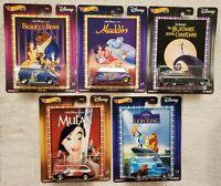 Hot Wheels Premium 2020 Pop Culture Walt Disney Classics Set of 5 Cars Lion King