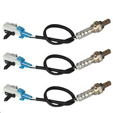 3pc Upstream & Downstream Oxygen O2 Sensor For 2002 Chevrolet Blazer S10 V6 4.3L
