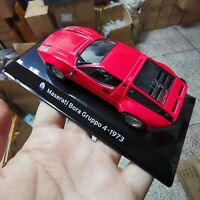 1/43 Red Maserati Bora Gruppo Diecast Vehicles Car Model 4-1973 Collection Gift