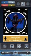 Topps Star Wars Card Trader Retro Rewind Gold Rebels Sabine Wren 30cc