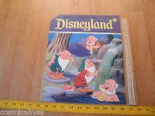 Disneyland Magazine 1974 Snow White and the Seven Dwarfs wraparound cvr #97