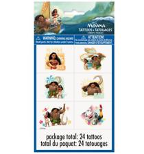 Disney Moana Temporary Tattoo - 4 sheets, 24 tattoos