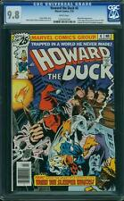 HOWARD THE DUCK # 4  US MARVEL 1976 Gene Colan CGC 9.8 MINT Highest graded