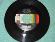 Warner Mack How Long Will It Take NM/As Long As i keep Wanyin' 1967 Country 45