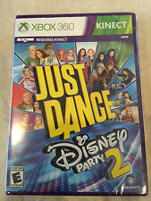 Just Dance: Disney Party 2 (Microsoft Xbox 360, 2015)  XBOX 360 NEW