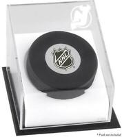 Devils Puck Logo Display Case - Fanatics