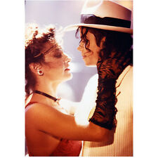 Michael Jackson King of Pop Head Holding Girl 8 x 10 Inch Photo