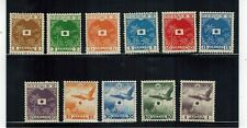 Japan Occupation Netherland Indies 1943 Navy Complete Set Mint Hinged.