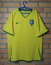 Brazil Home football shirt 2008 - 2010 size L jersey soccer Nike
