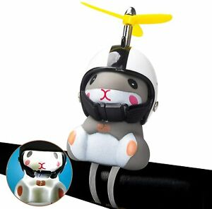 Duck Bike Bell with Light and Helmet Cute Hamster Bicycle Horn