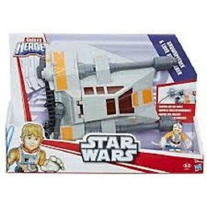 STAR WARS GALACTIC HEROES SNOWSPEEDER WITH FIGURE BRAND NEW & SEALED
