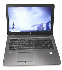 HP ZBook 15u G3 Laptop: Core i7, 256GB SSD, 16GB RAM, AMD FirePro, Warranty