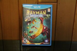 Rayman Legends (Nintendo Wii U, 2013) LIKE NEW