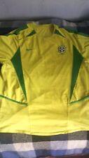 maglia Brasile Brazil Bresil shirt camiseta maillot trikot # 10 L chest 56 cm
