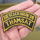 100% Orig Vietnam Theater made ARVN Ranger 81st Recon Tab Patch