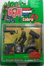 GI JOE VS COBRA-BLISTER PERSONAGGIO CON JEEP ARMATA C/ SUONI-ORIGINALE HASBRO