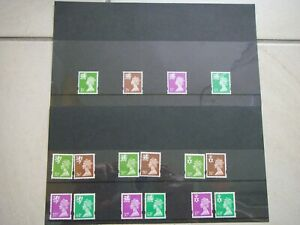 GB Regional Stamps ( 2 packs) for Wales, N.I. + Scotland.