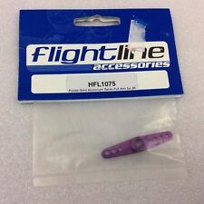 FLIGHTLINE HFL1075 ALUMINIUM SERVO ARM JR, M3 FULL - Purple - rc