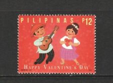 PHILIPPINES 2018 VALENTINES DAY GUITAR & SINGING COMP. SET OF 1 STAMP IN MINT