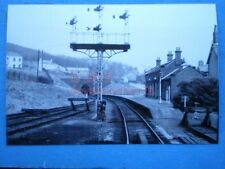 PHOTO  CORKICKLE RAILWAY STATION 4/4/70 VIEW OF STATION FROM THE CAB OF A DMU