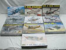 Lot 10 Revell Monogram Lindbergh US Air Force Model Planes Fighter Helicopter
