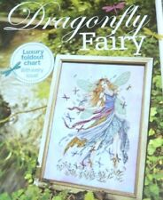 JOAN ELLIOTT STUNNING DRAGONFLY FAIRY (GARDEN FAIRIES SERIES) CROSS STITCH CHART