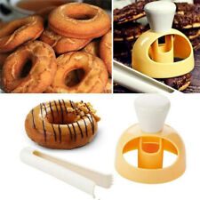 Plastic DIY Donut Mold Desserts Bread Cutter Maker Baking Mould for Home Kitchen