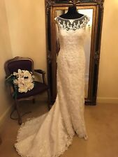 Maggie Sottero Wedding Dress Nanette Size 14 Ivory New!!