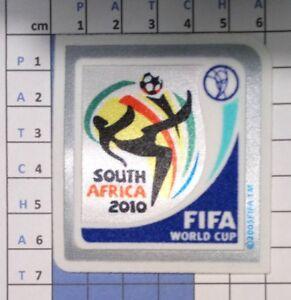 Coupe du Monde 2010 Patch Badge maillots foot Brésil France Allemagne Espagne