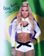 TAY CONTI Autograph Signed 8x10 Photo #10 WWE NXT SUPERSTAR BRAZIL MODEL TAYNARA