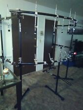 gibraltar double bass drum rack cage