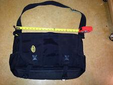 TIMBUK2 Black Padded Messenger Bag Computer Laptop Shoulder Strap