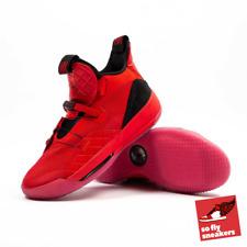 Nike Air Jordan 33 University Red Aq8830-600 UK Size 10 / EU 45