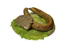 Thüringer Leberwurst direkt vom Bauernhof, geräuchert ca. 360g - Einfach lecker!