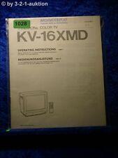 Sony Bedienungsanleitung KV 16XMD (#1028)
