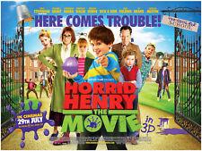 Horrid Henry - A3 Film Poster - FREE UK P&P