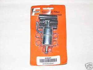 81-88 Chrysler Dodge Plymouth 2.2L Fuel Filter FRAM G3587