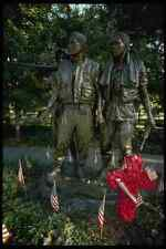 259084 Statuary Vietnam Veterans Memorial A4 Photo Print