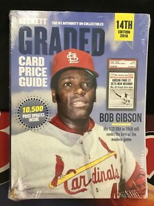BECKETT GRADED Card Price Guide 14th Edition 2018 Yearly BRAND NEW IN WRAPPING