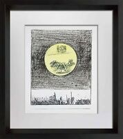 Max Ernst LITHOGRAPH Original Numbered LIMITED Ed. 125 w/Archival Frame