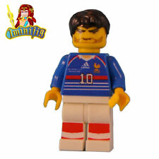 Custom LEGO minifigure Zinedine Zidane in 1998 World Cup Jersey