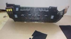 mega bloks nave perla nera negra pirati dei caraibi per ricambi lego compatibile