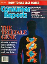 1990 Consumer Reports Magazine: The Telltale Gene/How to Use Less Water/Suitcase