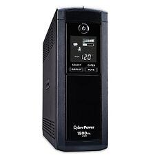 CyberPower CP1500AVRLCD Intelligent LCD UPS 1500VA 900W AVR Mini-Tower