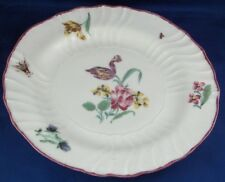Nice 18thC Chantilly French Soft Paste Porcelain Floral Plate Porzellan Teller