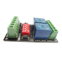2 CH Relay Board Module Optocoupler (without Case) High Level / Low Level 3V