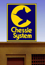 MILLER ENGINEERING CHESSIE ANIMATED NEON SIGN KIT N/HO SCALE train 44-2752 NEW