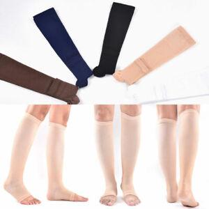 1Pair Unisex Open Toe Medical Compression Socks for Women & Men Sport Socks Hot