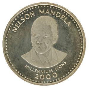 Somalia - Copper-Nickel 25 Shillings Coin - 'Nelson Mandela' - 2000 - UNC